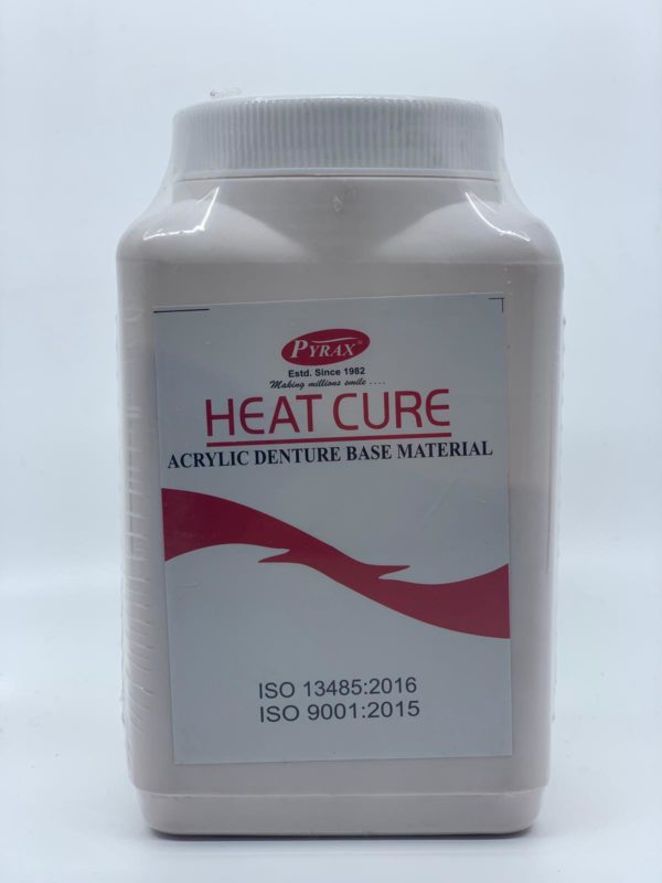 Pyrax Heat Cure Acrylic Denture Base Powder